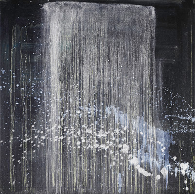 Pat Steir, Very Pretty Waterfall for Herb and Dorothy, 1996–97. Oil on canvas. Harvard Art Museums/Fogg Museum, The Dorothy and Herbert Vogel Collection: Fifty Works for Fifty States, a joint initiative of the Trustees of the Dorothy and Herbert Vogel Collection and the National Gallery of Art, with generous support from the National Endowment for the Arts and the Institute of Museum and Library Services, 2008.330.14. © Pat Steir.