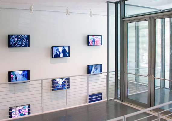 Arranged on the wall adjacent to the Harvard Art Museums' Prescott Street entrance, 258 Fake reflects both the museums' commitment to contemporary art and to making works more accessible to a wide audience through the museums' Art in Public Spaces initiative.