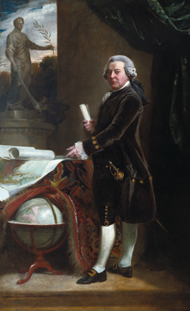 John Singleton Copley, John Adams (1735–1826), 1783. Oil on canvas. Harvard University Portrait Collection, Bequest of Ward Nicholas Boylston to Harvard College, 1828, H74.