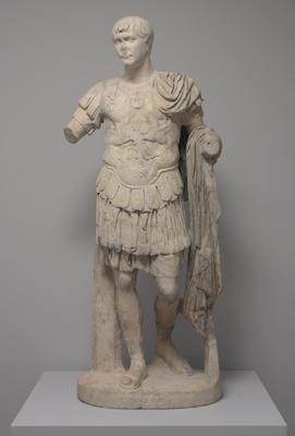 Emperor Trajan, Roman, after 103 CE. Pentelic marble with modern restorations. Harvard Art Museums/Arthur M. Sackler Museum, Alpheus Hyatt Purchasing Fund, 1954.71.