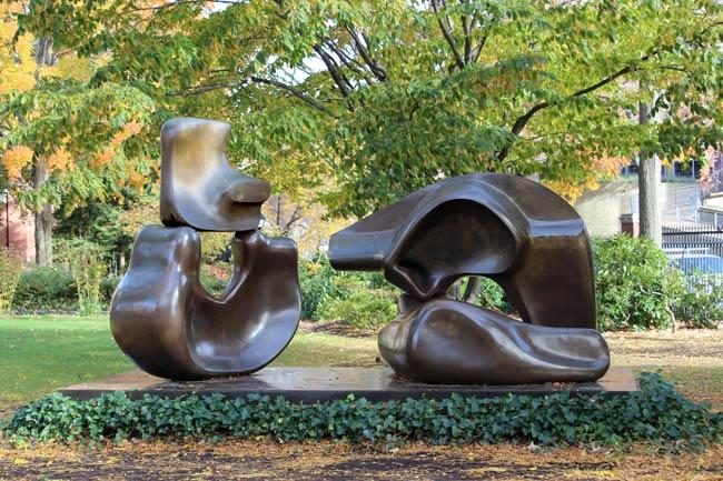 Gift Of Sandra And David Bakalar 46 Located Outdoors Outside Lamont Library Harvard Yard