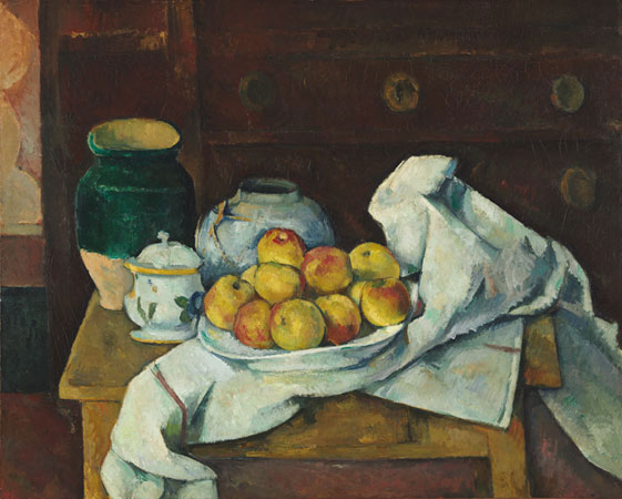 Paul Cézanne Still Life with Commode, c. 1887–88, Harvard Art Museums/Fogg Museum.