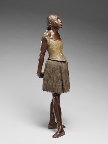 Edgar Degas, Little Dancer, Aged Fourteen, 1880, Harvard Art Museums/Fogg Museum.