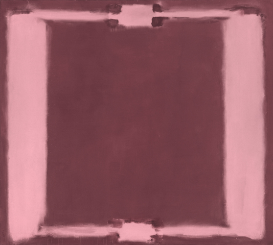 Mark Rothko, Panel Five (Harvard Murals), 1962. Egg tempera and distemper on canvas. Harvard Art Museums/Fogg Museum, Transfer from Harvard University, Gift of the Artist, 2011.638.5.© Kate Rothko Prizel & Christopher Rothko/Artists Rights Society (ARS), New York. Photo: Digitally restored scan of a 1964 Ektachrome transparency.
