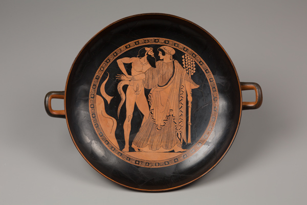 The reassembled and restored kylix.