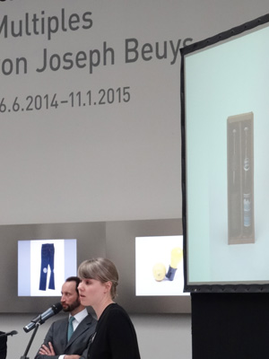Maja Wismer, former fellow in the Busch-Reisinger Museum, introduces the exhibition of Joseph Beuys's multiples currently on view at the Pinakothek in Munich.
