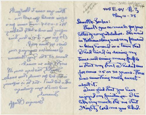 Georgia Okeeffe Art and Letters
