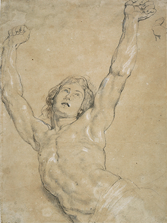 Peter Paul Rubens, A Study for Christ for