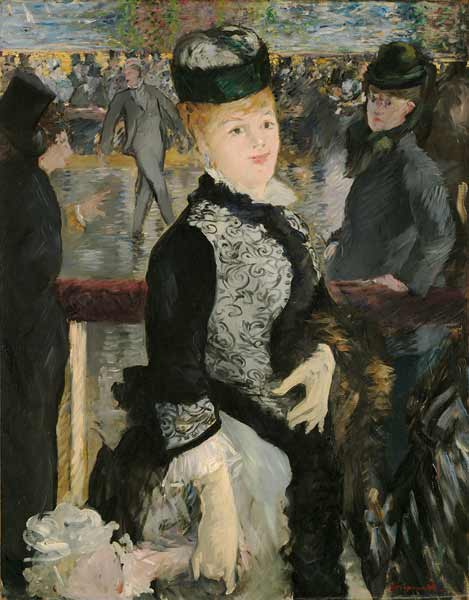Edouard Manet, Skating, 1877, Harvard Art Museums/Fogg Museum.
