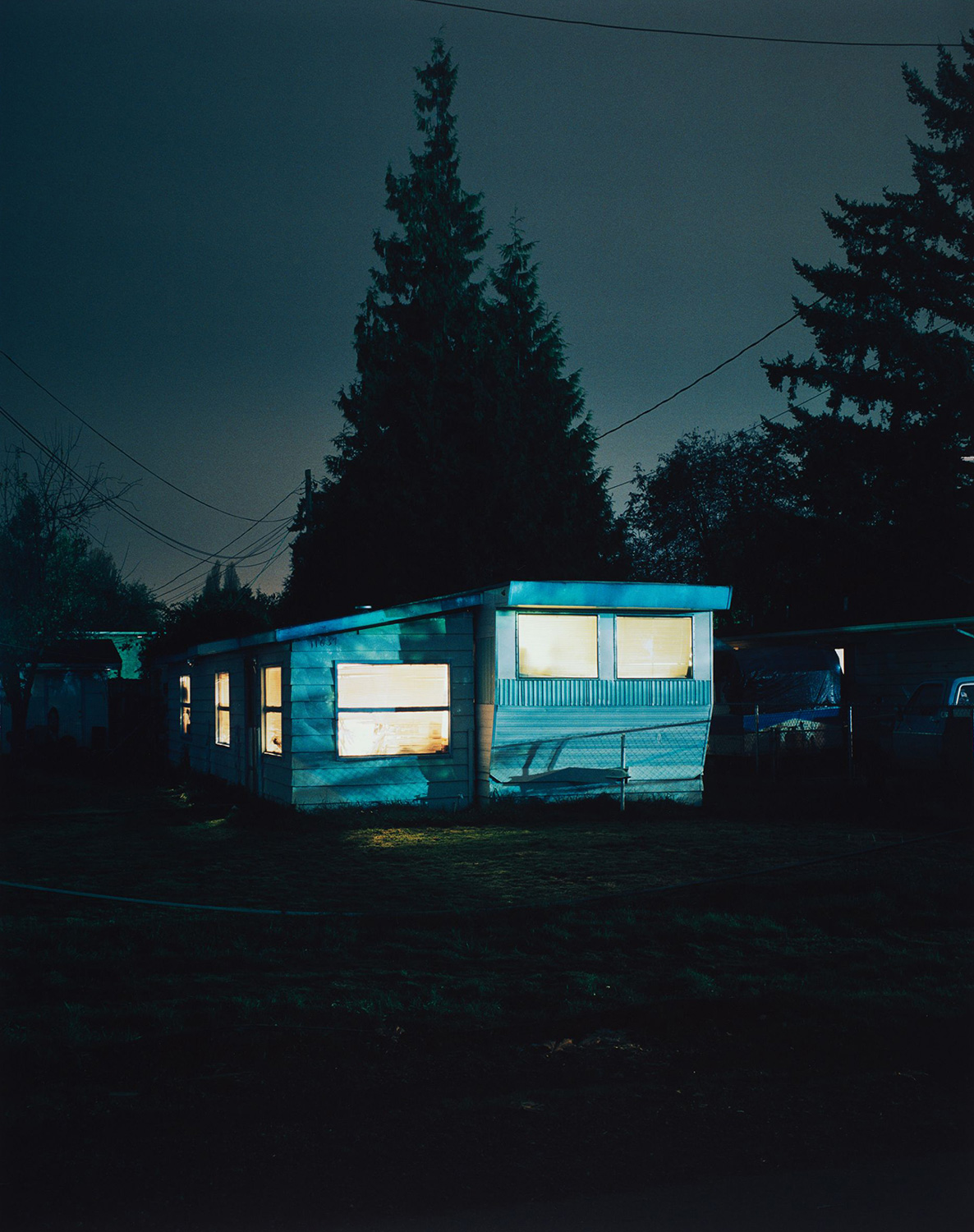 Todd Hido, #2810, 2001. Chromogenic print. Harvard Art Museums/Fogg Museum, Gift of Jamie Lunder, 2016.132.
