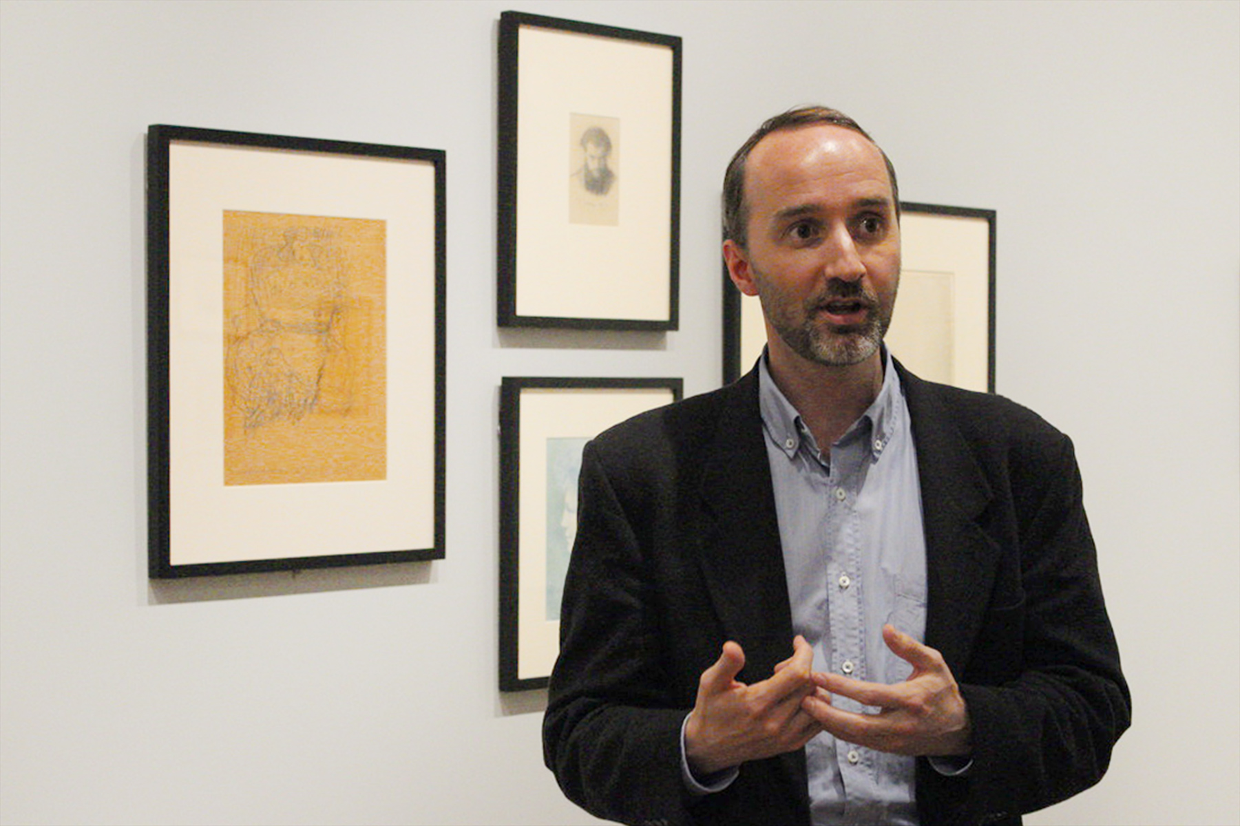 Edouard Kopp, the Maida and George Abrams Curator of Drawings.