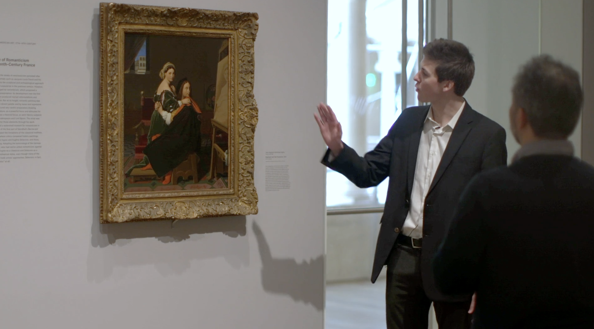 Tag Along on a Tour: Ingres's <em>Raphael and the Fornarina</em>