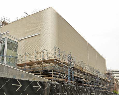 Harvard Art Museums renovation and expansion project. Prescott Street façade byAbbott-Boyle.