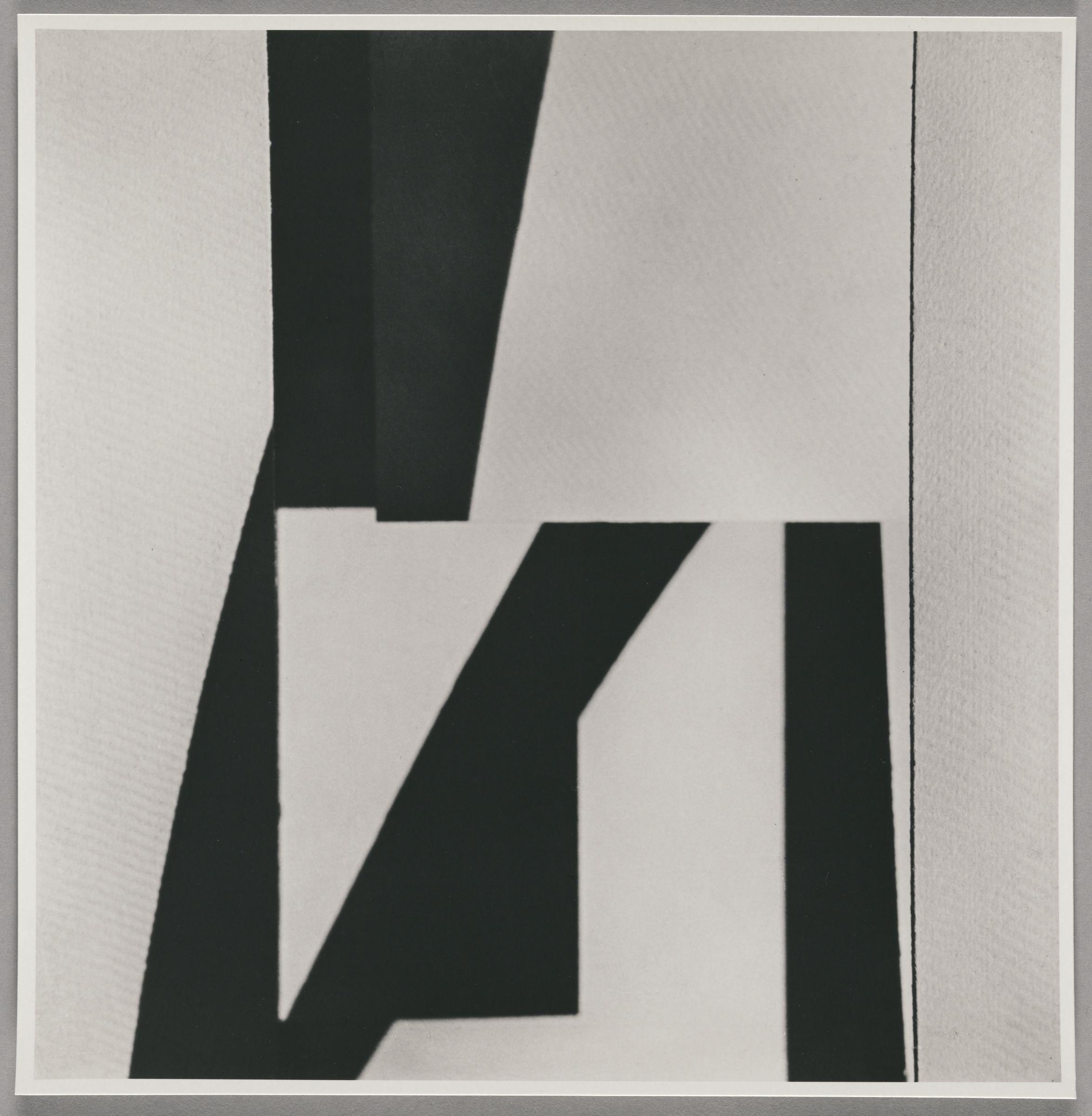 Jaroslav Rössler, Czech, Abstraction, c. 1923, printed 1994. Gelatin silver print. Harvard Art Museums/Fogg Museum, Schneider/Erdman Printer's Proof Collection, partial gift, and partial purchase through the Margaret Fisher Fund, 2011.453.3.