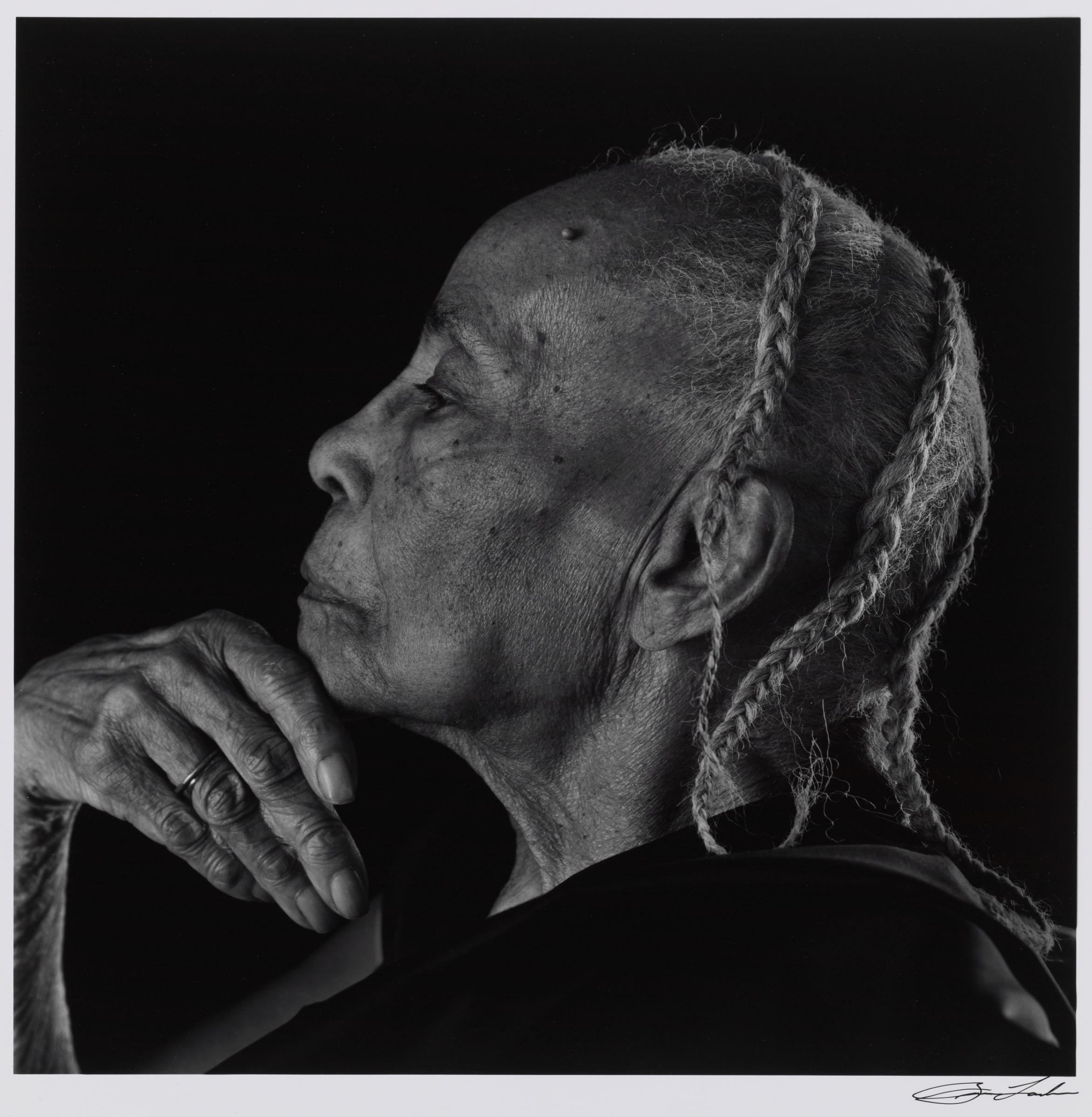 Brian Lanker, American, Septima Poinsette Clark, 1987. Gelatin silver print. Harvard Art Museums/Fogg Museum, Schneider/Erdman Printer's Proof Collection, partial gift, and partial purchase through the Margaret Fisher Fund, 2011.285.
