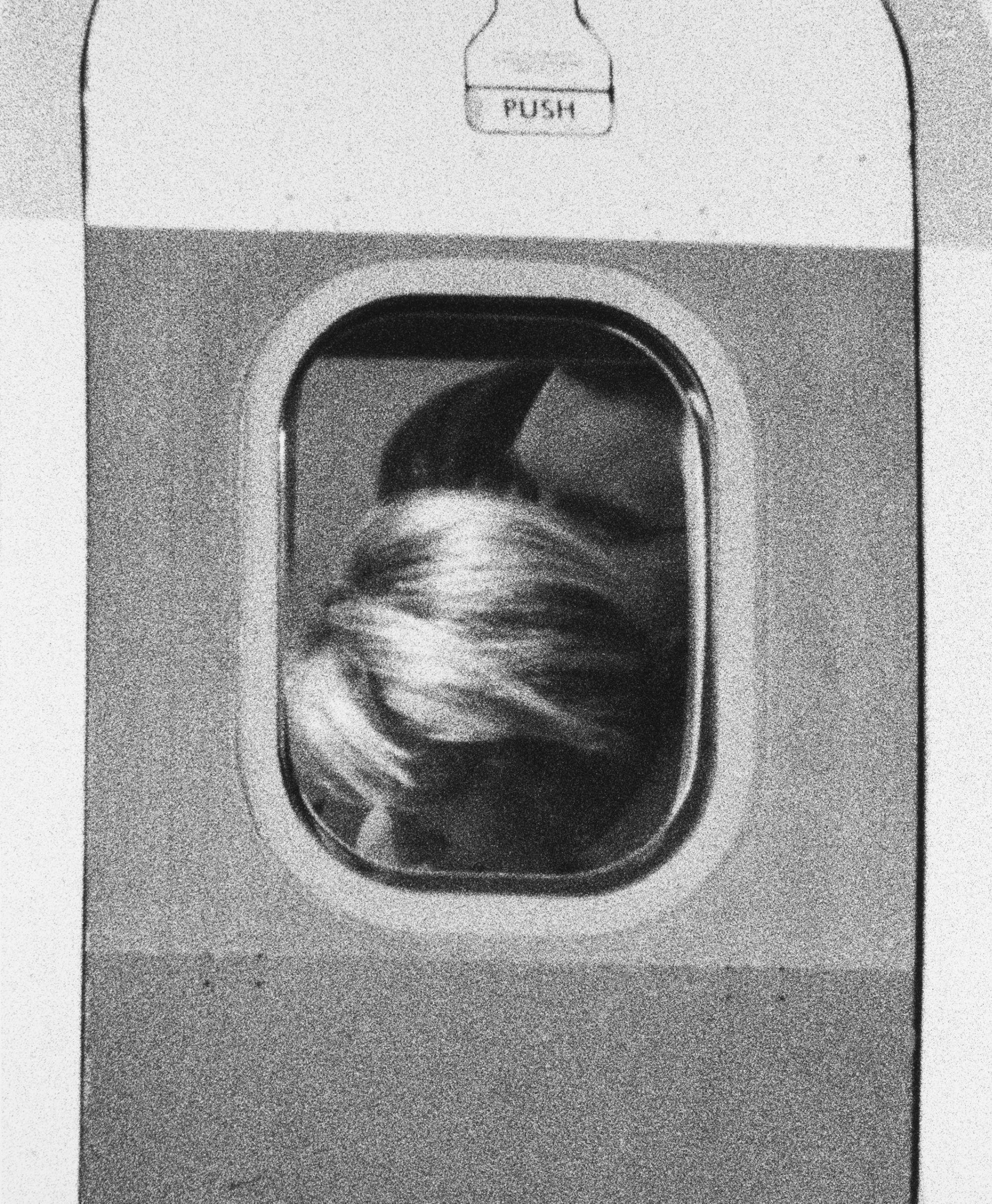 John Schabel, American, Untitled (Passenger #9), 1995. Gelatin silver print. Harvard Art Museums/Fogg Museum, Schneider/Erdman Printer's Proof Collection, partial gift, and partial purchase through the Margaret Fisher Fund, 2011.424.