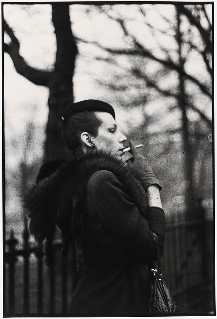 Nan Goldin, American, Ivy in the Boston Garden, Boston, 1973, printed 1990–91. Gelatin silver print. Harvard Art Museums/Fogg Museum, Schneider/Erdman Printer's Proof Collection, partial gift, and partial purchase through the Margaret Fisher Fund, 2011.212.