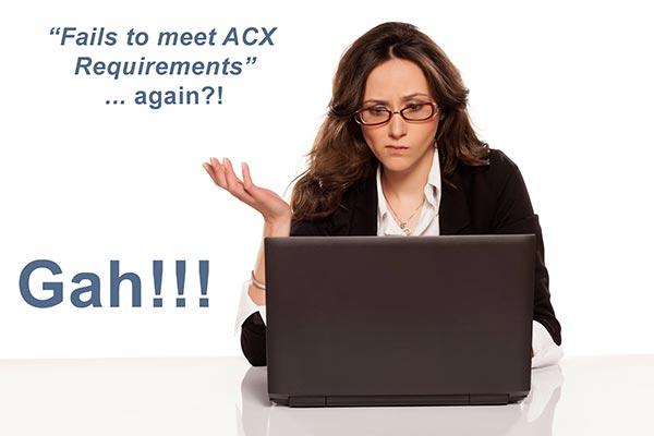ACX audio requirements