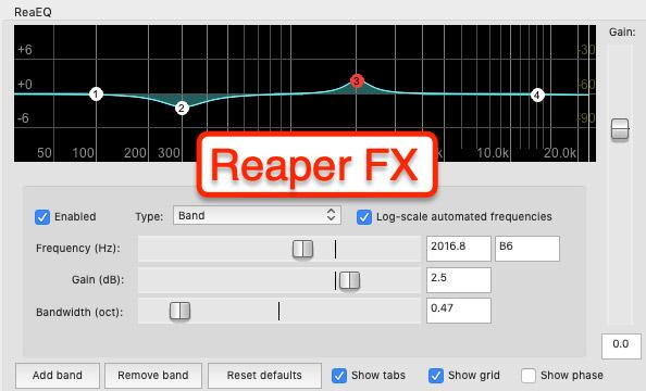 Reaper effects