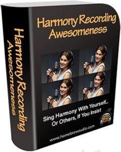 harmony recording course picture