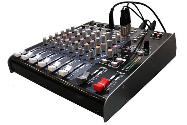 standard audio mixer