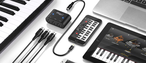iRig MIDI 2 portable MIDI interface