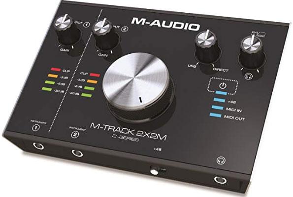 M-Audio-M-Track-2X2M USB audio and MIDI interface