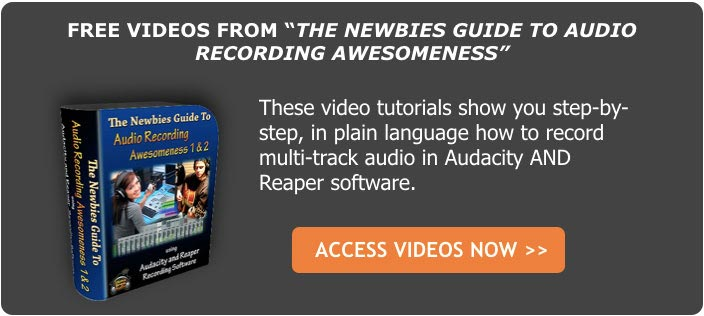 free home recording tutorial videos