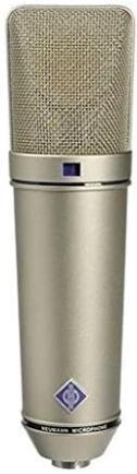 Neumann U 87 large diaphragm condenser mic