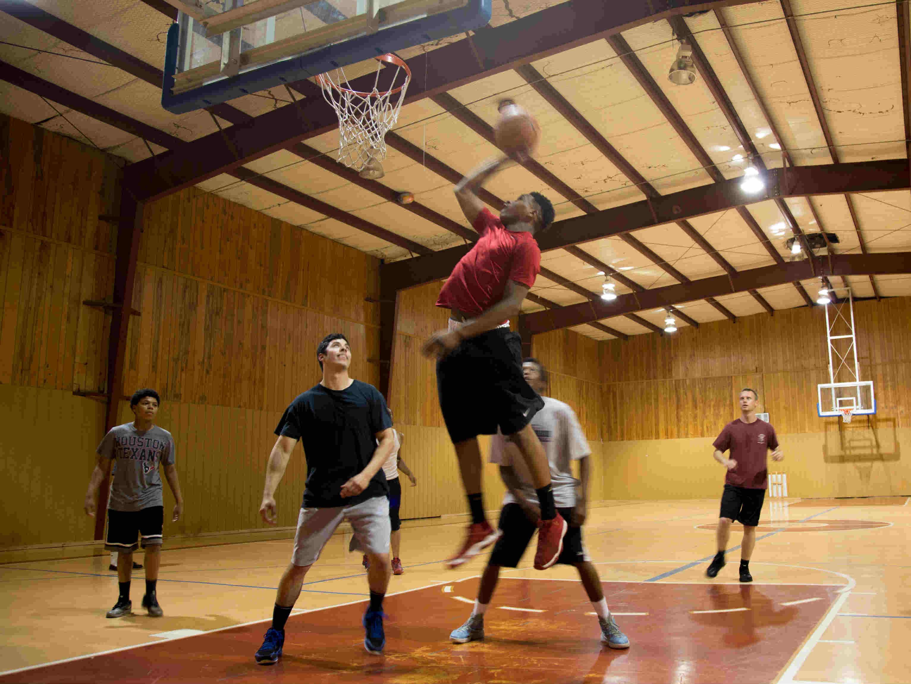 Hoops Night at Faith Center-Spring Branch