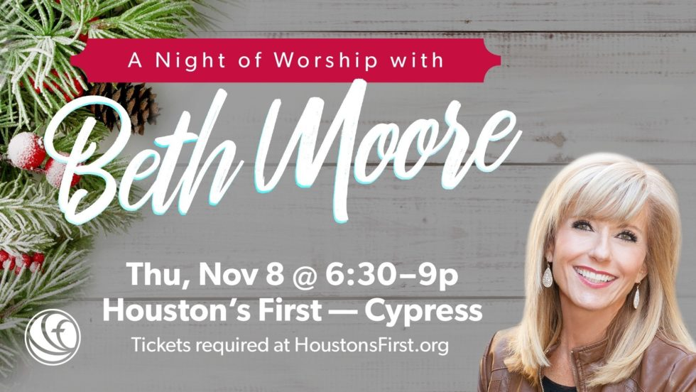 Cy Beth Moore Night Of Worship Nov 2018 Women