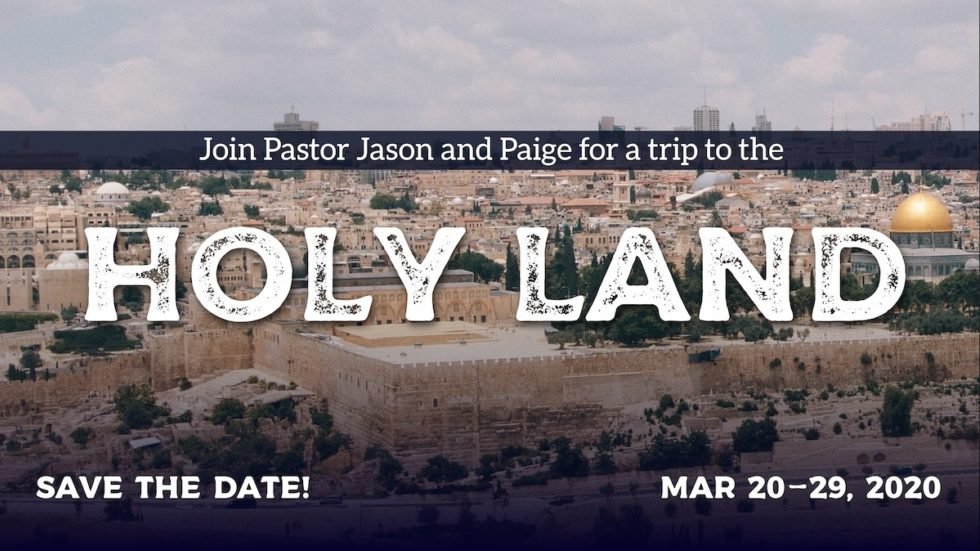 Cy Holy Land Tour 2020