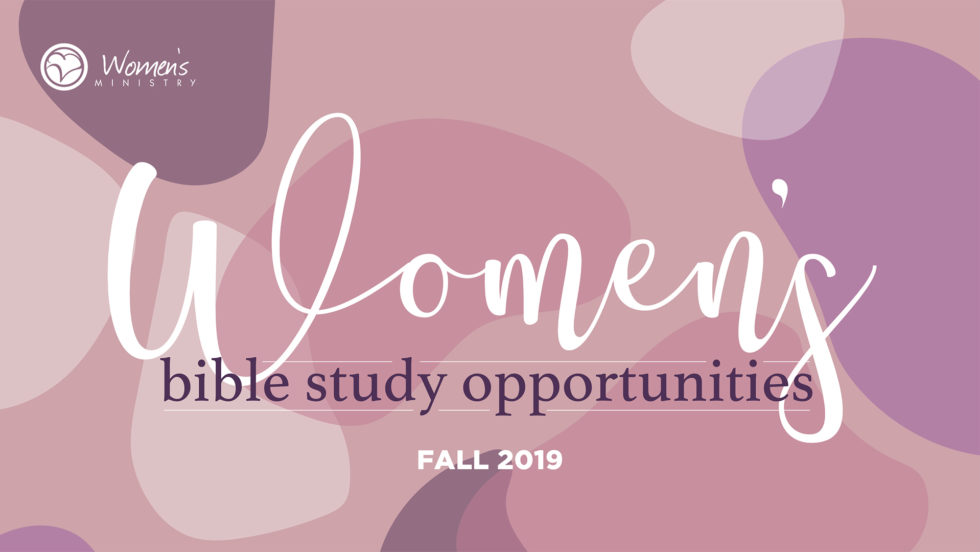 Cy Wom Womens Bible Studies Fall 2019