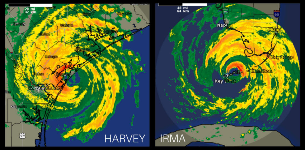 Harvey And Irma