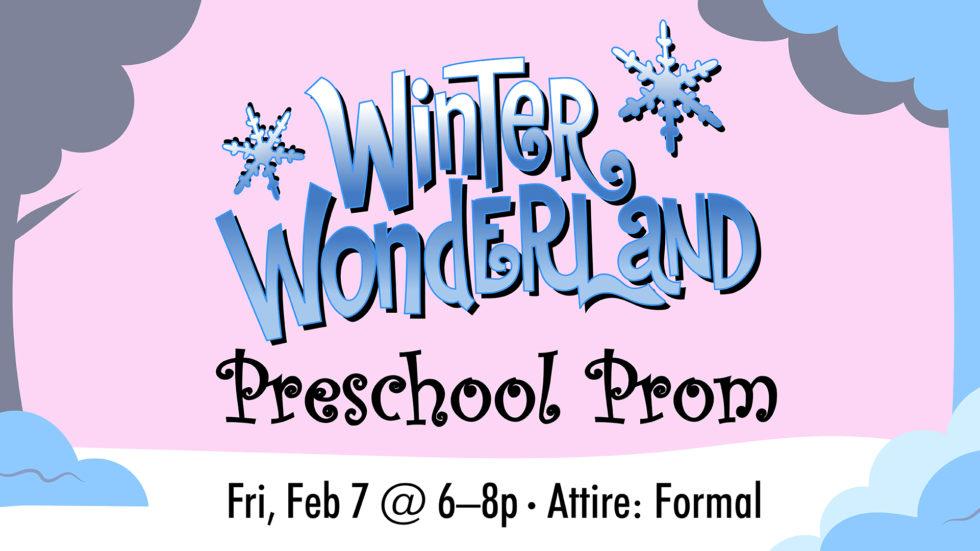 Sn Pre Winter Wonderland Preschool Prom 2020 Ei