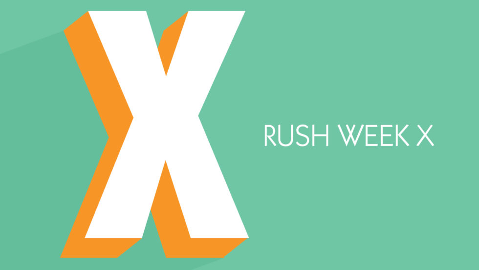 Stu Rush Week X 2019 Ei
