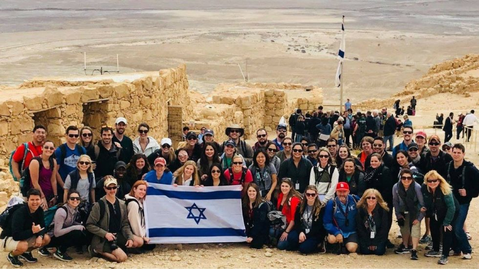 Summit Young Singles Israel 2018 Group