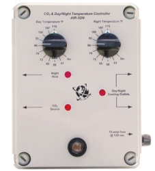 Atmosphere / CO2 controller, day & night temp w/photocell, 15-amp @ 120vac