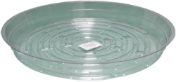 Clear 10 inch Saucer - 25 Pack