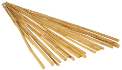Plant !t 4' Natural Bamboo Stake, 25 Pack