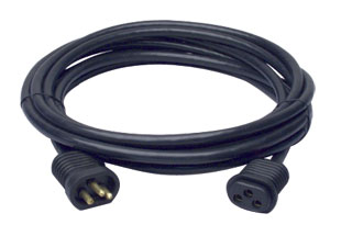 15' Lock & Seal Lamp Cord Extension