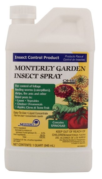 Monterey Garden Insect Spray With Spinosad 1 Pint