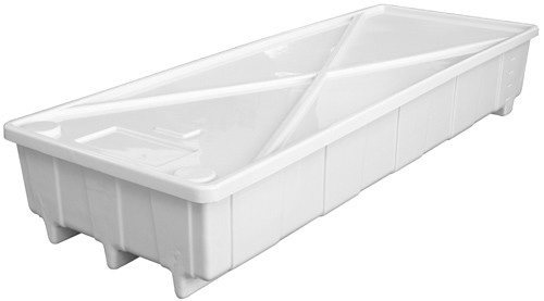 Easy Drain 100 Gallon Reservoir with Cover