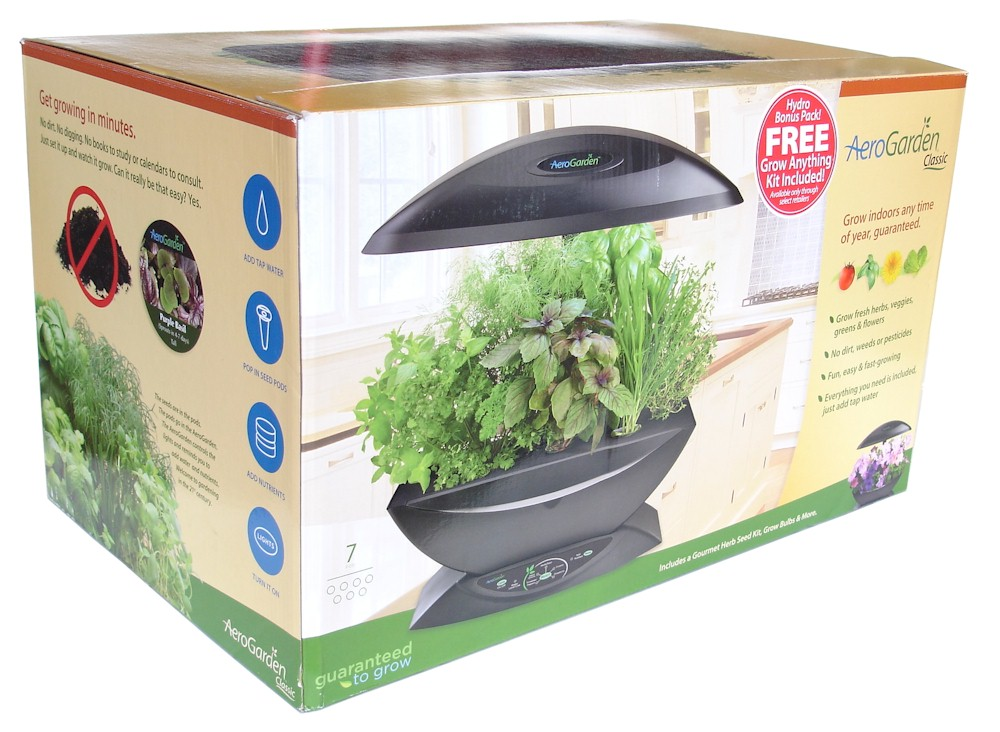 AeroGarden 7 wGourmet Herb Grow Anything Kit