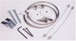 Wire Suspension Hanging Kit - 2 Point Connection (1 Kit)