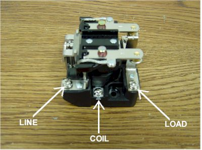 power relay connections