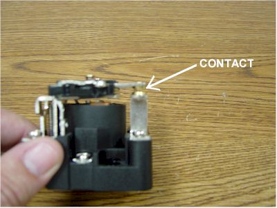 power relay contacts
