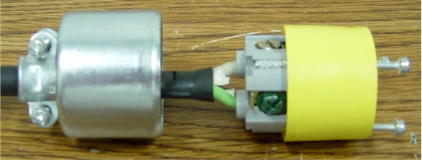 assembling the connector