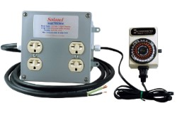 Solatel PWX-240-4 240V Power Expander - 4 outlet