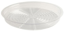 "Gro Pro 11.5""  Clear Saucer pack of 50"